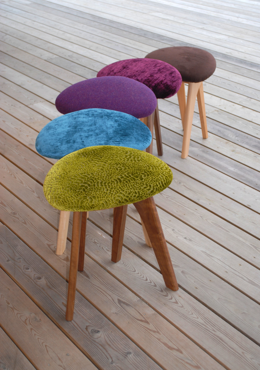 Gorgeous fabric choices for the Harmony Seat